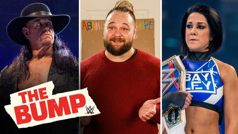 The Undertaker Bray Wyatt Bayley and more WWE's The Bump May 10 2020
