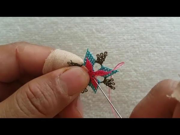 Hem Kolay Güzel Çok Güzel Bir Çiçek Motifi Yapımı