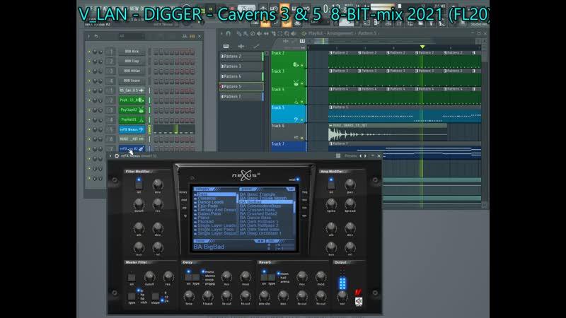 V LAN DIGGER Caverns 3 5 8 BIT mix 2021 FL20