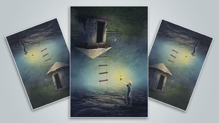 Making Upside Down Manipulation Scene Effect In Photoshop