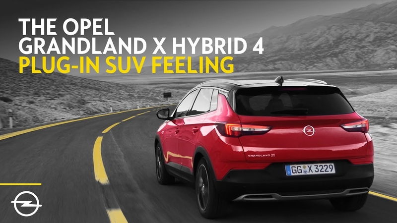 New Opel Grandland X Hybrid4 SUV 2 0 IAA19