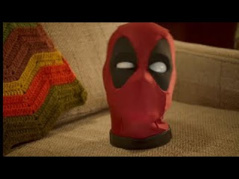 Marvel Legends Animatronic Deadpool's Talking Head Commercial