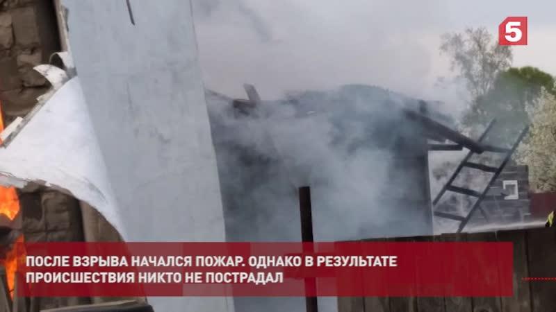 Баллон сгазом взорвался вчастном доме вЕАО