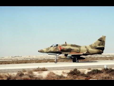 Free Kuwait a historia dos Skyhawks da Marinha do Brasil na Guerra do Golfo