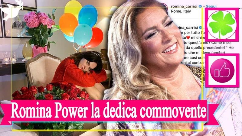 Romina Power la dedica commovente per il compleanno di Romina Carrisi