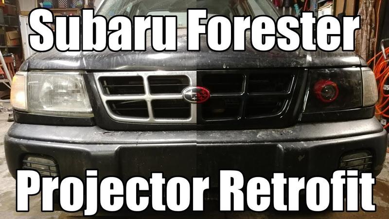Subaru Forester Projector Retrofit