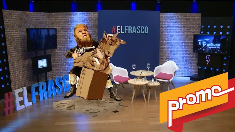 Promo - El Frasco, medios sin cura El terrorista N°1 y su dedo acusador