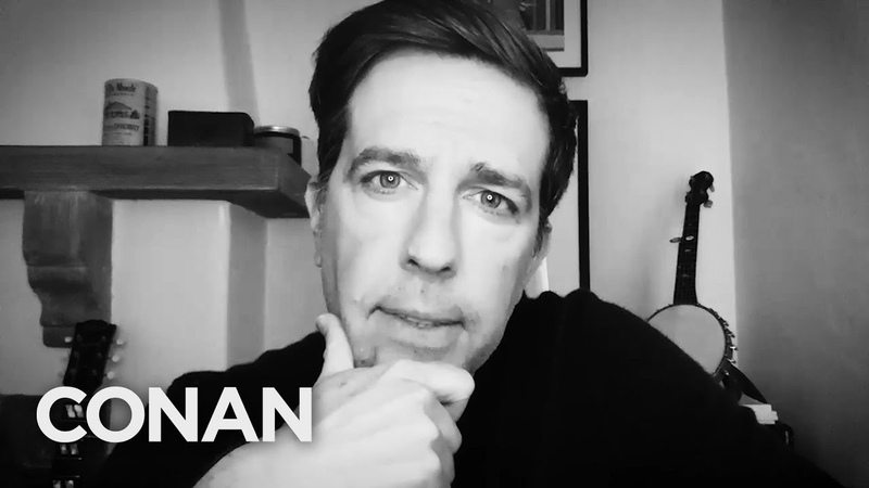 Ed Helms' Quarantine Quonfessions CONAN on TBS