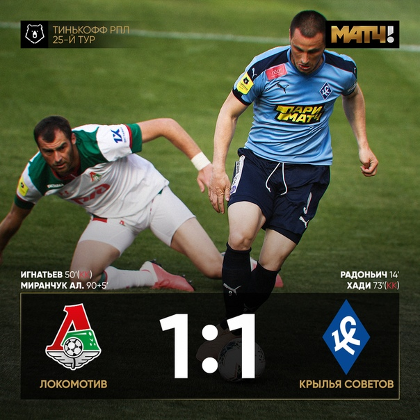 «Крылья» вели весь матч, но Алексей Миранчук все...
