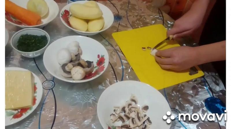Конкурс Рецепт семейного счастья Жаркое по домашнему в горшочках Семья Чигаревых