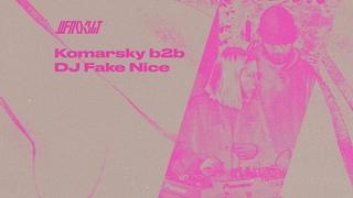 Депозит w/ Komarsky b2b DJ Fake Nice —