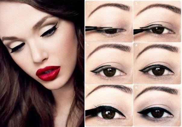 ОШИБКИ ПРИ НАНЕСЕНИИ ПОДВОДКИ Красивые стрелки на глазах способны кардинальным образом преобразить лицо, даже если при этом не злоупотреблять декоративной косметикой. Нанесение подводки это