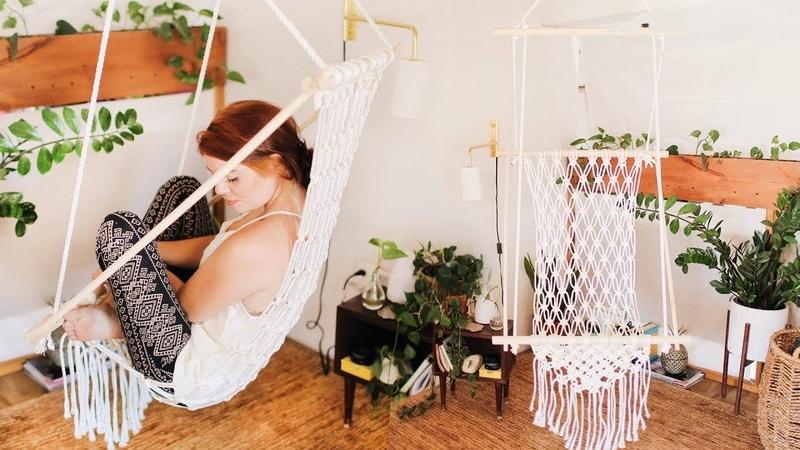 DIY a Gorgeous Boho Macrame Chair