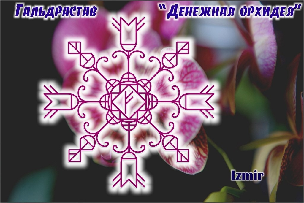 Гальдрастав «Денежная Орхидея»  Автор: Izmir SJPTxegOwHw