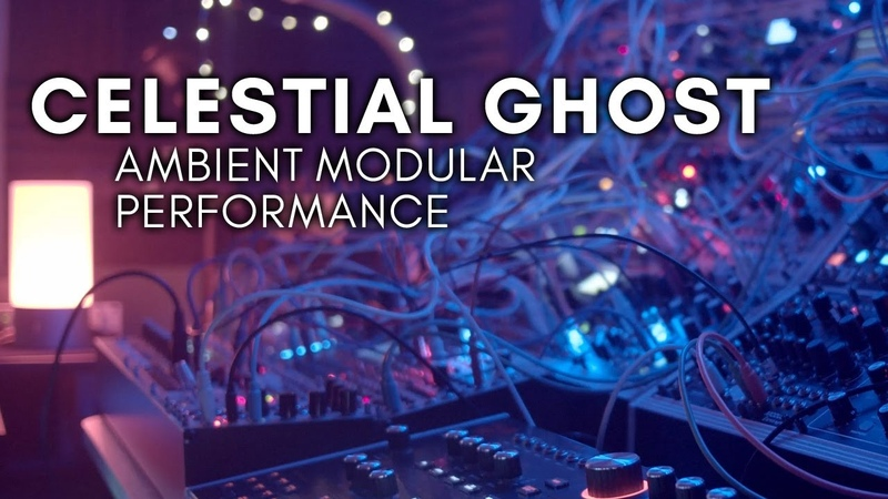 Celestial Ghost Ambient Modular Hydrasynth Keystep Pro E370 Vector Magneto Peak