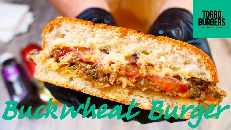 Обзор Buckwheat Burger заведение Torro Burgers! Гречневая котлета )
