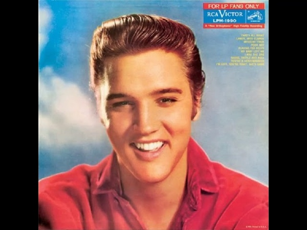 Elvis Presley That's All Right 1954