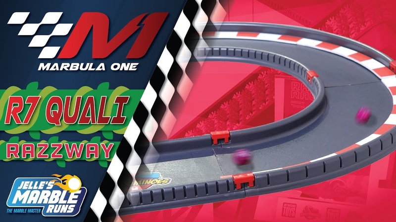 Marbula One Razzway GP Qualifying S1Q7 Marble Race by Jelle's Marble Runs